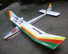 Graupner Rarität Filou 2 mit Cox Motoraufsatz, Segelflugzeug für Sammler