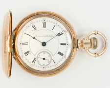 Columbus Watch Co. 18s 17j Pocket Watch for Restoration out of Estate!