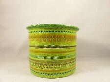 VTG Rosenthal Netter ALDO LONDI for BITOSSI Ceramic POTTERY PLANTER POT Vase MCM