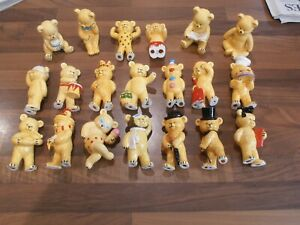 Collection of 20 Teddy bears by Pam Storey from Danbury Mint
