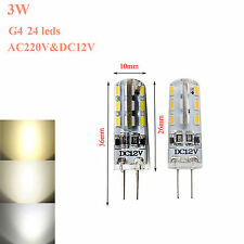 G4 3W 5W 7W 9W LED Dimmable Bulbs Lights SMD Cool Warm White Lamps 12V 220V