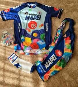 SPORTFUL MAPEI LATEXCO GB  cycling kit SIZE XL