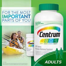 Centrum 425 Tablets Men/Women Adults under 50 Multi Vitamin Mineral  365 + 60