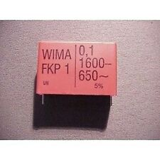 Condensateur Capacitor Polypropylène 0,1µF 1600V = 650V ~ WIMA FKP1 LOW PRICE !!