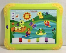 Baby Musical Touch Pad Tablet Screen Learning Light Songs Sounds Toy
