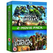 Teenage Mutant Ninja Turtles 2 Film Blu-ray Boxset