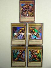 Yu-Gi-Oh  Komplette Exodia the Forbidden One  YGLD Legendary Deck - ENGLISCH