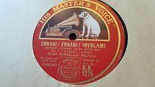 ROSA PONSELLE ERNANI ERNANI INVOLAMI & PACE PACE MIO DIO HMV DB1275