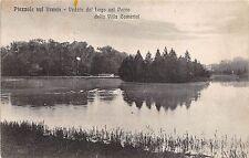 B16998 Italy Veneto Piazzola Sul Brento Veduta del lago nel Parco della Villa Ca