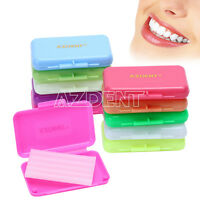 UK AZDENT Dental Orthodontics Wax For Braces Gum Irritation 10 Scents U Choose