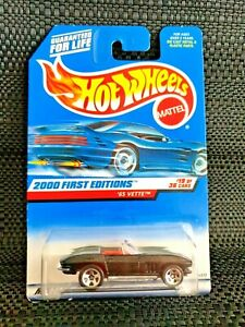 Hot Wheels '65 Vette 2000 First Editions - Collector No. 079
