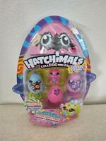 Hatchimals CollEGGtibles Cosmic Candy 4 PACK Hatch The Galaxy Mini Figure Toys