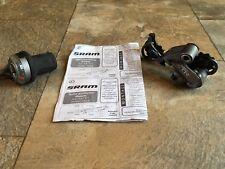 Vintage Shimano XTR rear Derailleur RD-M952 & SRAM Twist Shifter 9 spd MTB