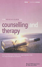 "The ""Which?"" Guide to Counselling and Therapy (""Which?"" Consumer Guides), Brooke"