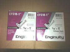 "ENGENUITY by paslode 10000 18GA 18 Ga.  1""  leg x 1/4"" Crown Staples 1""  EFS18-1"