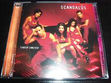 Scandalus / Scandal'us Startin' Somethin' Australian Pop CD – Like New