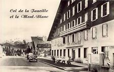 Col de la Faucille et le Mont-Blanc Hôtel-Restaurant de la Faucille