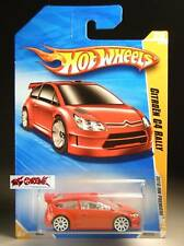Hot Wheels 2010 #029 Citroen C4 Rally RED,WHITE 10SP,1ST COLOR EDITION,RARE!!