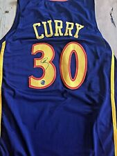 AUTOGRAPHED STEPHEN CURRY GOLDEN STATE WARRIORS CUSTOM JERSEY WITH COA!