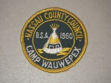 1960 Wauwepex Patch Nassau County Council BSA Boy Scout Patch