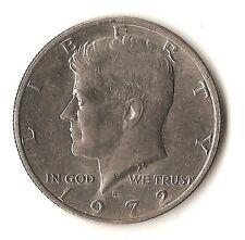 1972 D Kennedy Half Dollar - AU