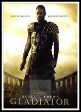 Gladiator    Poster Greatest Movies Classic & Vintage Films