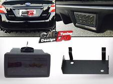 Smoked F1 Style LED Rear Fog Light Brake Tail Lamp For 2011-up Subaru WRX STi XV
