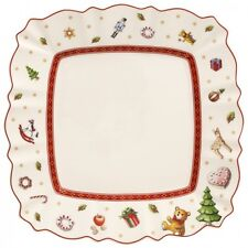 Villeroy & Boch TOY'S DELIGHT White Square Salad Plate