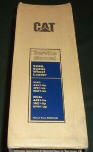 CAT CATERPILLAR 924G 924Gz WHEEL LOADER SERVICE SHOP REPAIR BOOK MANUAL