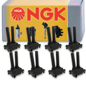 8 pcs NGK Ignition Coil for 2006-2010 Dodge Ram 1500 5.7L V8 - Spark Plug ct