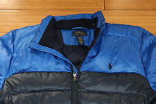 Ralph Lauren POLO Navy Blue down jacket boys size X-Large 18-20