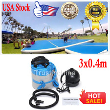 3x0.4m Inflatable Balance Air Tumbling Track Gymnastics Tumbling GYM Mat + Pump