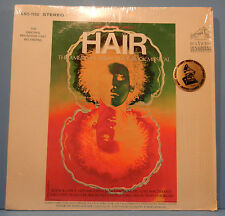HAIR AMERICAN TRIBAL LOVE-ROCK MUSICAL LP 1968 SHRINK GREAT COND! VG++/VG+!!A