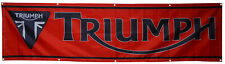 Triumph Flag 2x8Ft Motorcycle Racing banner  US Shipper