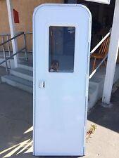 """RV, Travel Trailer, 5th Wheel Entry Door with Built in Screen Door 72"""" x 24"""""""