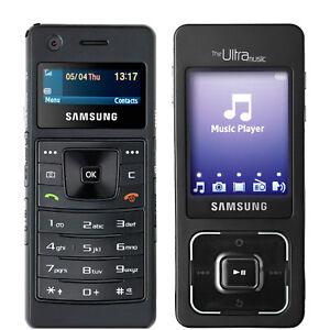 BNIB Samsung SGF-F300 Ultra Music 128MB Black Factory Unlocked 2G GSM OEM Boxed