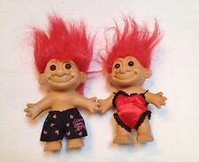 """Vintage Russ Valentine Troll Couple Lingerie & Boxers 4 3/4""""  NOS"""