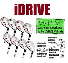 FULL SET OF 8 ALL Hybrid Rescue Irons Woods Complete 3 4 5 6 7 8 9 PW IRON SET