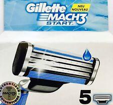 Gillette Mach 3 Start 10 Rasierklingen  NEU & OVP