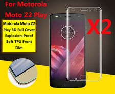 2pcs Full Cover Soft TPU Screen Protector Front Film For Motorola Moto Z2 Play