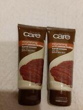 2 x Avon Care Nourishing Hand Cream Cocoa Butter Extra Dry Skin 2x 75ml