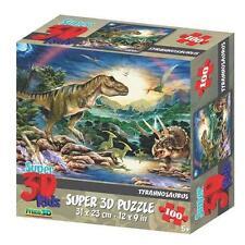 Tyrannosaurus 3D Jigsaw Puzzle, 100 Piece