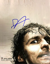 """Official WWE - Signed 11"""" x 14"""" Hand Signed Photo / Poster - Dean Ambrose"""