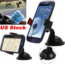 Universal 360° Rotating Car Windshield Mount Holder Stand For Mobile GPS Phone