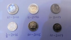 Morocco 2016 - 2017 Mint coins full set