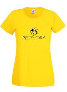 T-shirt Donna QLM_02 Quattro col Matto Manicomio Musicale Itinerante Band