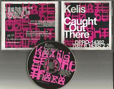 KELIS Caught out there w/ 3 RARE EDITS & EXTENDED USA PROMO DJ CD Single 1999