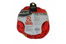 Rave Sports 2 Rider Tow Rope 60' Red and Black