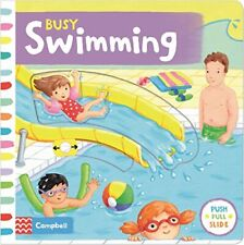 Busy Swimming (Busy Books) by Finn, Rebecca Book The Cheap Fast Free Post