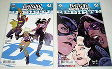 Batgirl & The Birds Of Prey 1A And 1B Dc Universe Rebirth Tie-Ins 2016